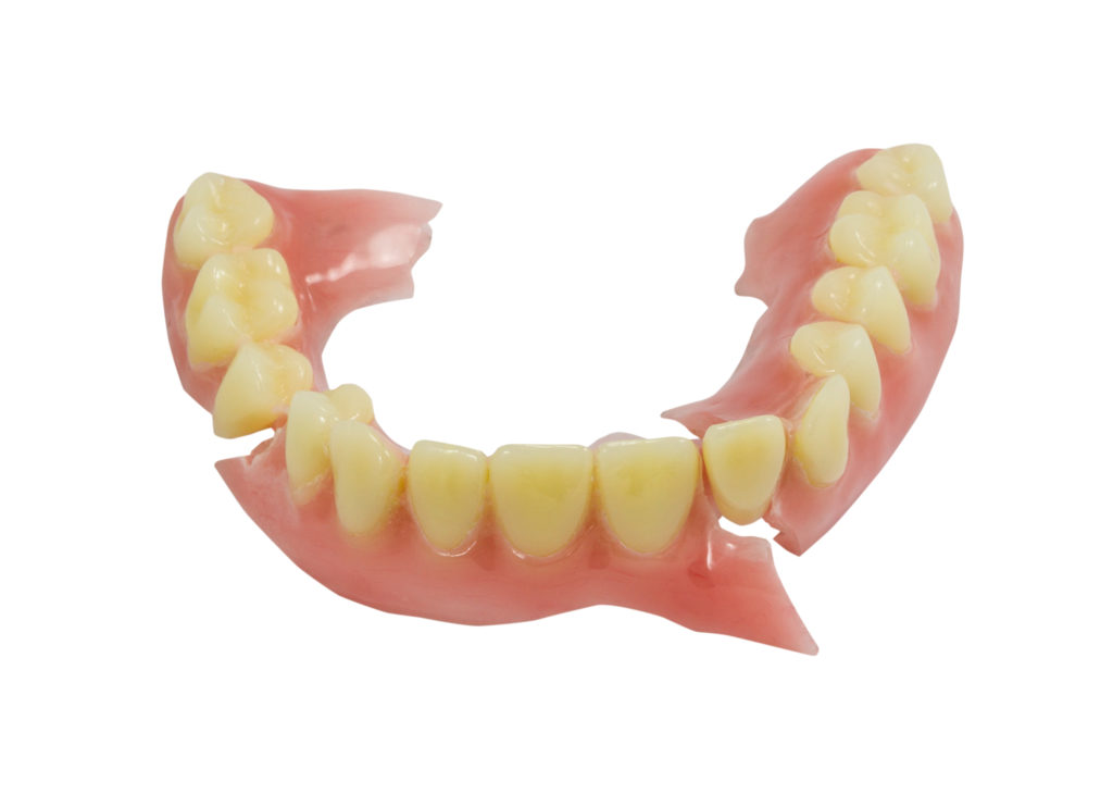 Eliminate the discomfort of a broken denture. Let us restore your denture to full function.